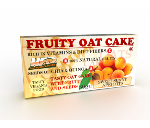 FRUITY OAT CAKE 80гр кайсия