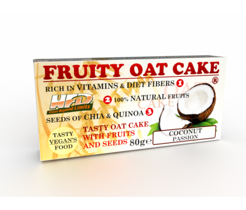 FRUITY OAT CAKE 80гр кокос