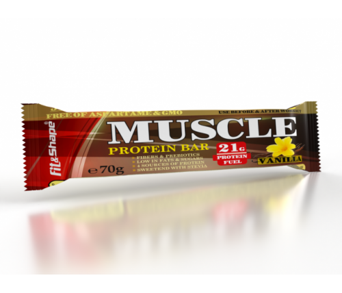 MUSCLE ® PROTEIN BAR 70гр ванилия