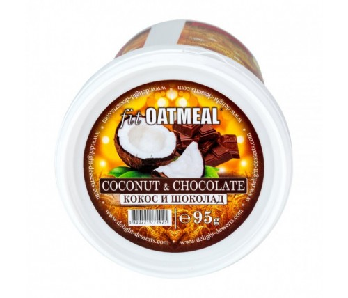 fit OATMEAL Protein 95гр кoкос и шоколад